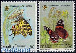 Butterflies 2v