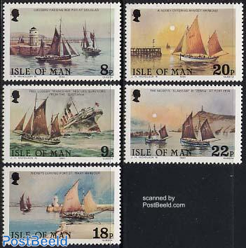 Fishing ships 5v