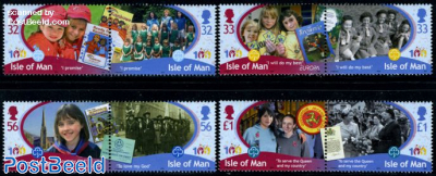 100 Years Girl Guides 8v (4x[:])