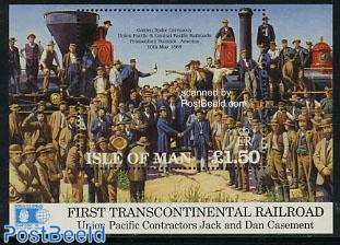 Trans continental railway s/s