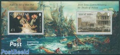 Battle of Trafalgar s/s, Death of Nelson