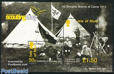 Scouting centenary s/s