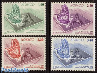 Stamp issues 4v