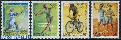 Olympic centenary 4v