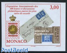 Stamp exposition 1v imperforated