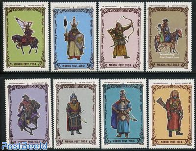 Dschengiz Khan soldiers 8v