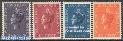 40th anniversary of coronation 4v
