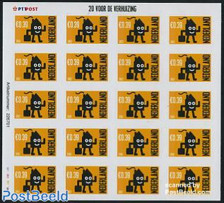 Moving stamps minisheet