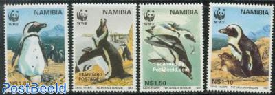 WWF, penguin 4v