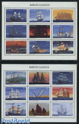 Sailing ships 2x9v m/s