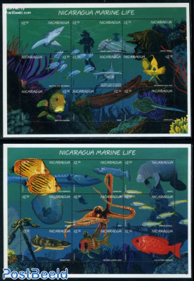 Marine life 2x9v m/s