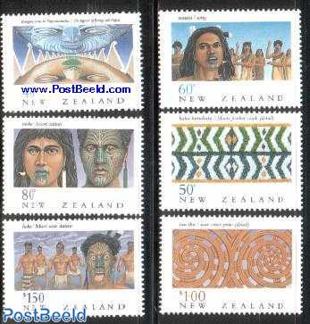 Maori heritage 6v