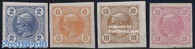 Newspaper stamps 4v