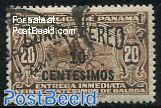 Airmail overprint 1v