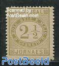 2.5R Newspaper stamp 1v
