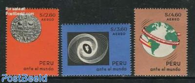 Peru in the world 3v