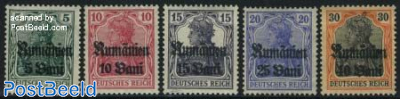 German occupation 5v