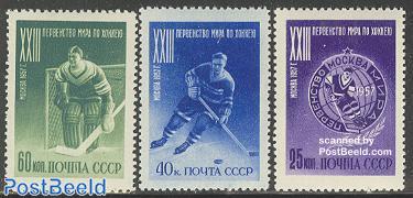 Ice hockey championship 3v