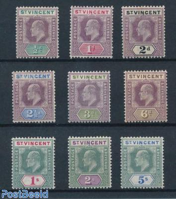 Definitives, Edward VII 9v