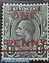 Overprint 1v