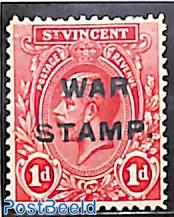 WAR STAMP 1v
