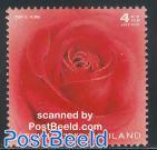 Rose 1v, fragrant stamp