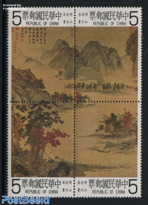 Qiu Ying paintings 4v