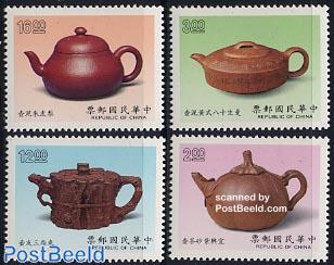 Tea pots 4v