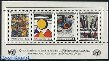 WFUNA 40th anniversary s/s