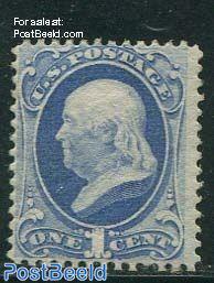 1c, Benjamin Franklin