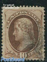 10c, Thomas Jefferson