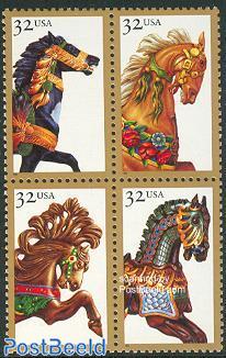 Carousel horses 4v [+]