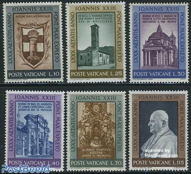 Pope John XXIII 6v