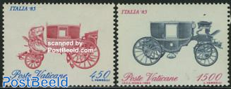 Italia 85 exposition 2v