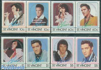 Elvis Presley 4x2v [:] overprints