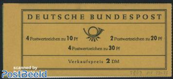 Brandenburger Tor booklet, Sieger advertisement