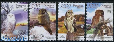 Birdlife, owls 4v