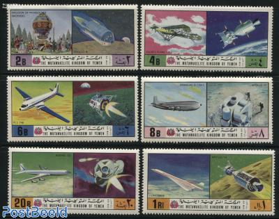 Aviation & space exploration 6v