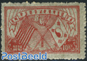 Postal connections with USA 1v