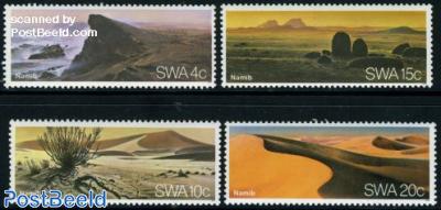 Namibian desert 4v