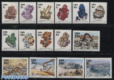 Definitives, minerals & mining 15v