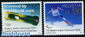 Winter Olympics, Paralympics 2v
